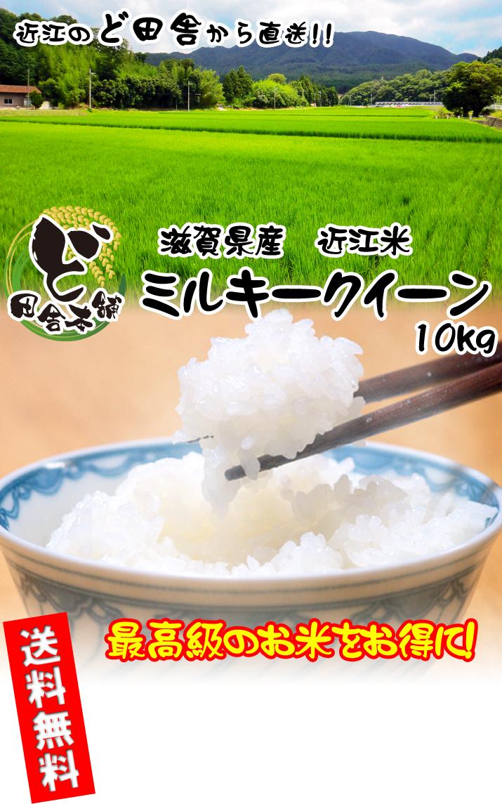滋賀県産 近江米ミルキークイーン 10kg
