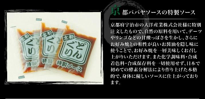 京都パパヤソースの特製ソース