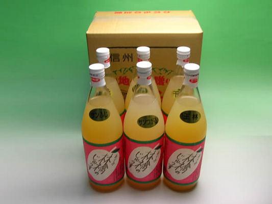安曇野りんごジュース6本入り