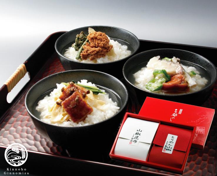 銀の三膳京佃煮セット(祝)