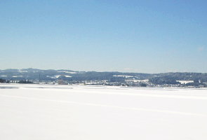 雪景色の魚沼地方