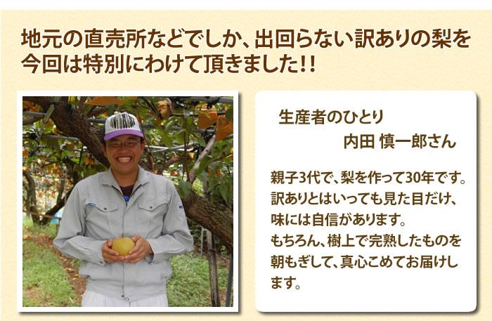 生産者のひとり 内田さん