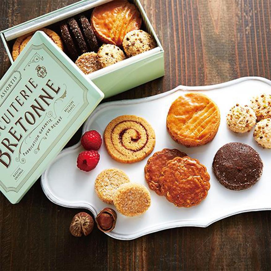 ブルターニュ クッキーアソルティ<缶>