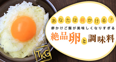 あなたは何かける?卵かけご飯が美味しくなりすぎる絶品卵と調味料