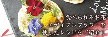 食べられるお花エディブルフラワーを使ったレシピをご紹介  - 母の日ギフト・プレゼント 通販特集 2017
