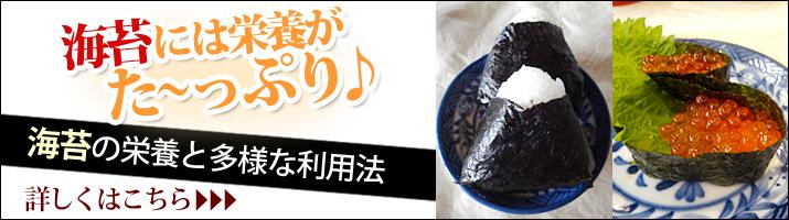 海苔の栄養と多様な利用法