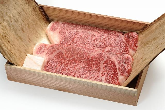 松阪牛ステーキ肉