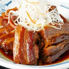 麺屋武蔵のチャーシュー&角煮セット