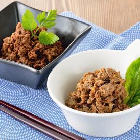 ギフト 御成町石川黒毛和牛そぼろ・しぐれ煮セット