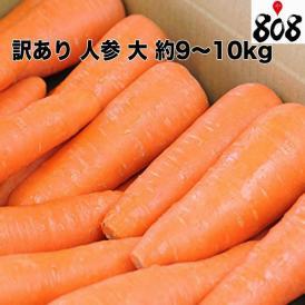 【送料無料】【西日本産】訳あり 人参 大 約9~10kg(北海道沖縄別途送料加算)