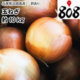 【兵庫県淡路島産】訳あり 玉ねぎ 大きさおまかせ 約10kg