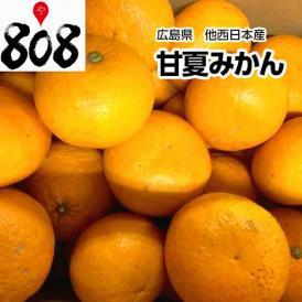 【西日本産】訳あり 甘夏みかん 大きさおまかせ 約10kg