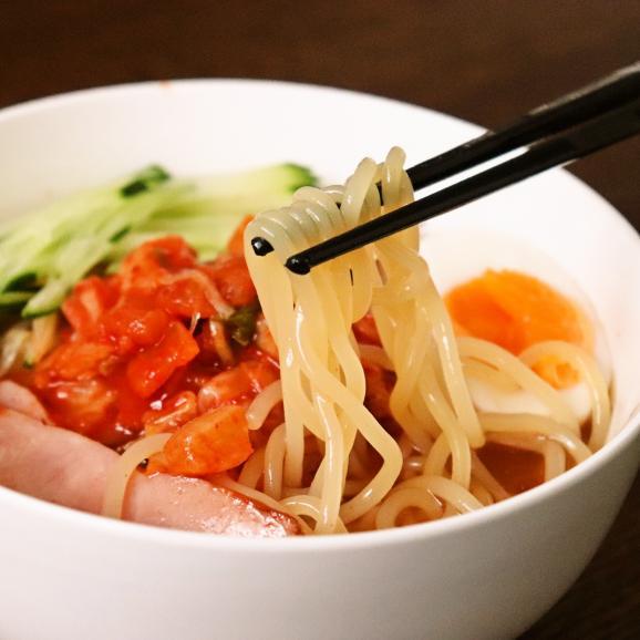 【ハチイチホルモン一番人気!】自家製ラー油を使用した特製冷麺+カクテキ付!(4食入)04