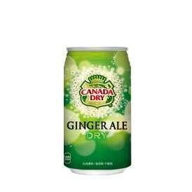 【送料無料】カナダドライジンジャエール350ml缶