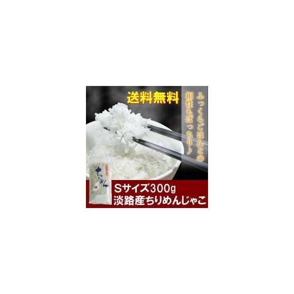 【送料無料】300gSサイズ淡路島産中上乾ちりめんじゃこ(しらす干し)使いやすい小分け(100g×3パック)01