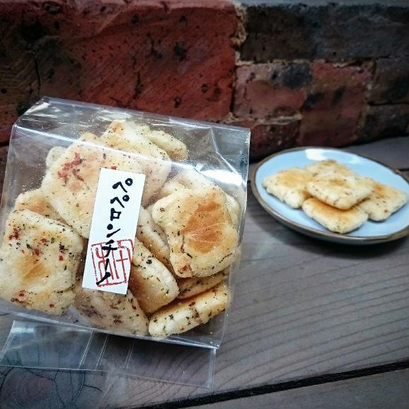 Cracker di riso ペペロンチーノ【50g】01