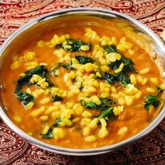 ダールほうれん草カレー(170g) ヘルシーで栄養価も高いです♪本場インドのレシピで仕上げたダール(インドの豆)とほうれん草のカレー!【カレー単品】02