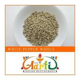 ホワイトペッパーホール(50g)【常温便】【White Pepper】【ホワイトペッパー】【白胡椒】【胡椒】【コショウ】【ペッパー】【スパイス】【香辛料】【ハーブ】