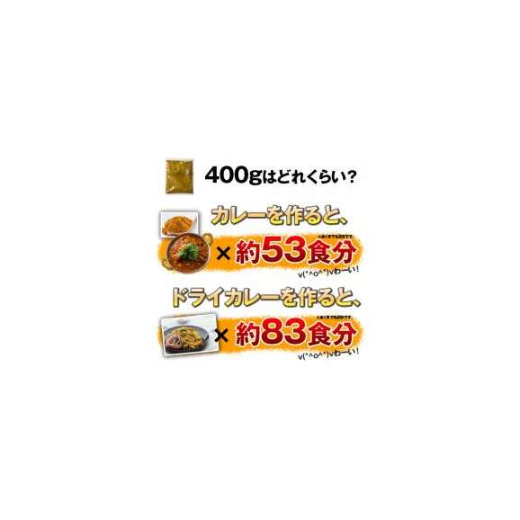 選べるオリジナルカレーパウダー(400g)カレー粉は万能調味料!カップ麺、レトルトカレー、カレールウの仕上げに!【ゆうメール便送料込】03