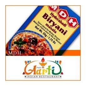 MDH ハイデラバディ ビリヤニマサラ(50g)【常温便】【粉末】【Hyderabadi Biryani Masala】【ミックススパイス】【パウダー】【スパイス】【香辛料】【ハーブ】