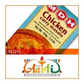 MDH チキンカレーマサラ(100g)【常温便】【粉末】【Chicken Curry Masala】【ミックススパイス】【パウダー】【スパイス】【香辛料】【ハーブ】