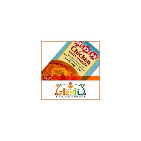 MDH チキンカレーマサラ(100g)【常温便】【粉末】【Chicken Curry Masala】【ミックススパイス】【パウダー】【スパイス】【香辛料】【ハーブ】01