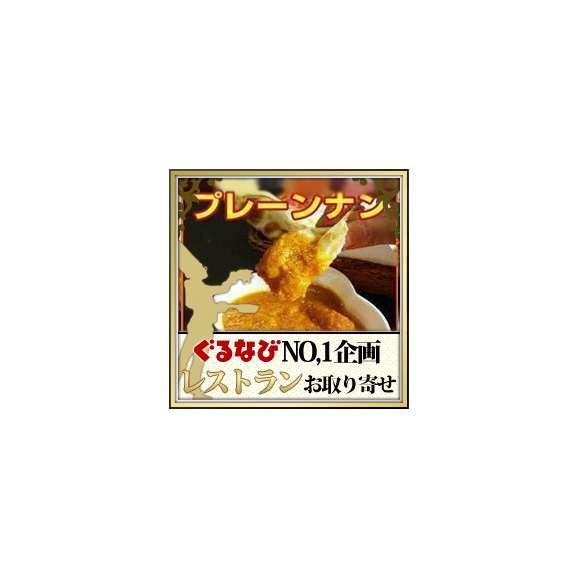 【送料無料】プレーンナン(5枚)【冷凍便】 インドカレーにピッタリ!ほんのり甘くサクサクでモチモチ!そのまま食べても美味しい!お得な5枚セット!01