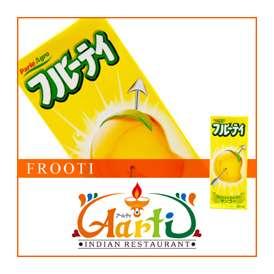 マンゴージュース フルーティ(Frooti) 200ml 【インド産】【業務用】【常温便】【パック】【Frooti】【フルーティー】【Mango Juice】