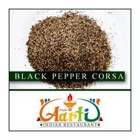 ブラックペッパー 粗挽き(50g)【Black Pepper Corsa】【常温便】【黒胡椒】【カリーミルチ】【ブラックペッパー】【スパイス】【香辛料】【ハーブ】