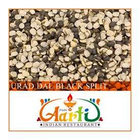ウラド豆 皮付き ひき割り(500g)【常温便】【豆】【Urad Dal Black Split】【ウラドダール】【ビーンズ】【ウラド豆】【ブラックマッペ】【ブラックウラド】【毛蔓あずき】