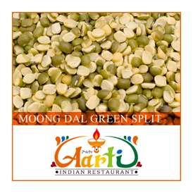 ムング豆 皮付き ひき割り(1kg)【常温便】【豆】【緑豆】【ムング豆】【ムングダール】【Moong Dal Green Split】【Moong Dal Whole】【皮付きムング豆】