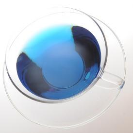 若さと美しさを保つおもてなしの青いお茶