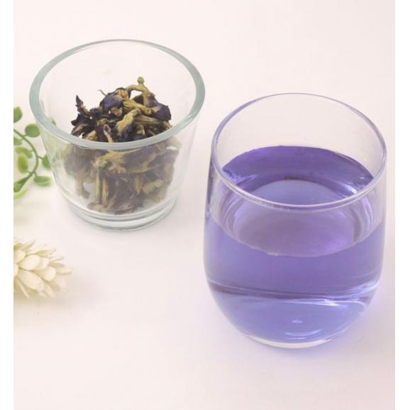 今話題の青いお茶【バタフライピー】プレミアムハーブティー 農薬不使用05