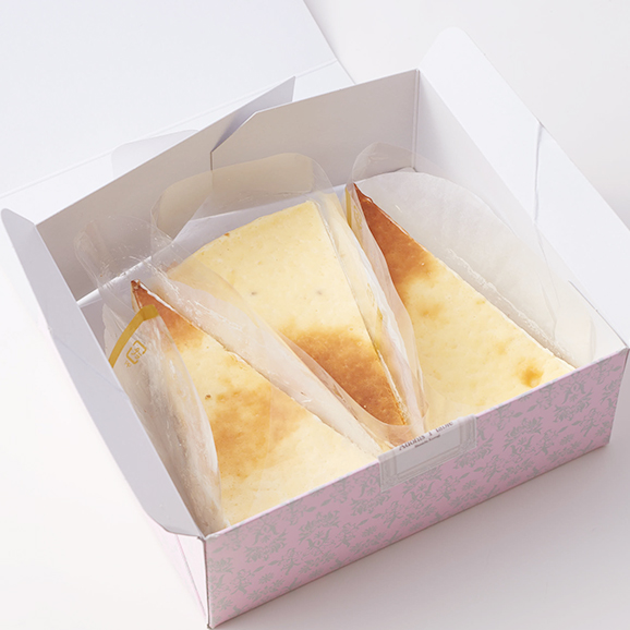 プレミアム 白トリュフチーズケーキ (カットサイズ)03