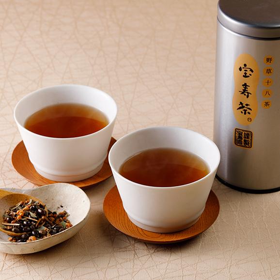 宝寿茶150g缶3本入化粧箱入り「松」セット01