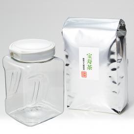 宝寿茶1000g保存容器付きセット