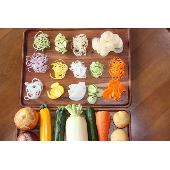 回転式野菜調理器 Clulu 【オレンジ色】02