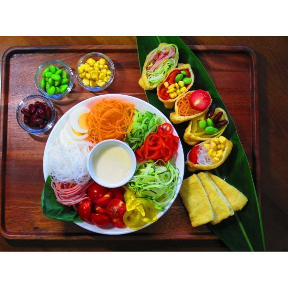 回転式野菜調理器 Clulu 【オレンジ色】04
