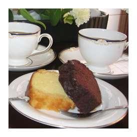 ブランデーケーキ チョコとプレーン2本入り