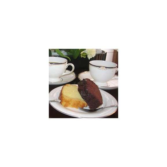 ブランデーケーキ チョコとプレーン2本入り01