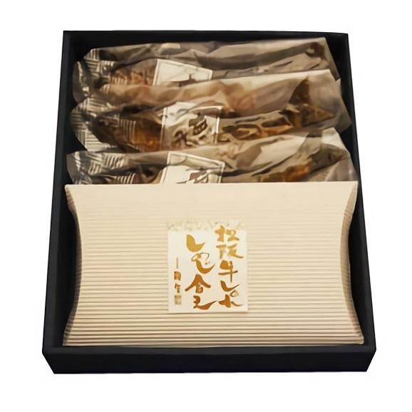 【ギフトにも最適です】鮎の甘露煮3匹 松阪牛しぐれ煮詰合せ 木箱入01