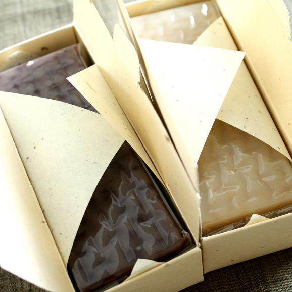 皇室献上菓匠 三省堂 贅沢ようかん和菓子 紫珠 白翠 セット04