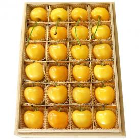 周りと差が付く、珍しいお中元のギフトなら、幻の黄色いさくらんぼ「月山錦(がっさんにしき)」