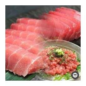 天然まぐろ(鮪) 3種セット (中トロ約400g・赤身約400g・ネギトロ約500g) 3~4人前 お刺身(さしみ)・海鮮丼 送料無料