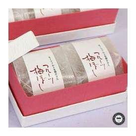 フルーツ梅干し(うめぼし) 2粒ギフト箱入り 和歌山県産・紀州南高梅干(深見梅店)