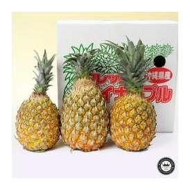 スナックパイン (パイナップル) 約2kg 2~3玉入り 沖縄県産 送料無料