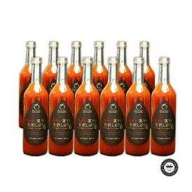 果汁100% トマトジュース あかい実りの贅沢しぼり 12本セット(720ml×12本) 宮城県産 無添加 送料無料