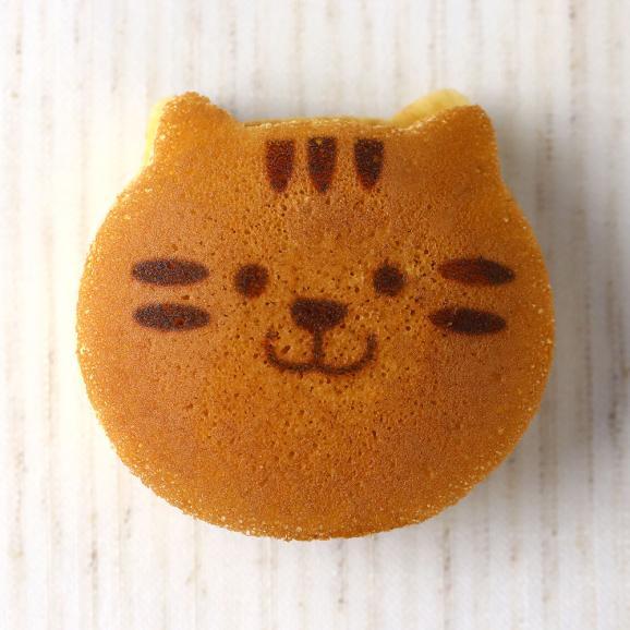 ねこのお菓子 どらネコ 5個入り 小豆餡 ギフト仕様 (猫 動物 どら焼き ドラ焼き どらやき 和菓子)04