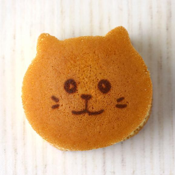 ねこのお菓子 どらネコ 5個入り 小豆餡 ギフト仕様 (猫 動物 どら焼き ドラ焼き どらやき 和菓子)05
