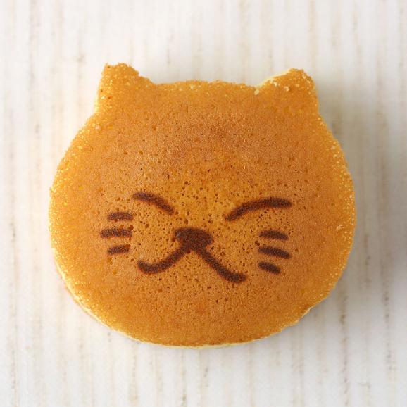 ねこのお菓子 どらネコ 5個入り 小豆餡 ギフト仕様 (猫 動物 どら焼き ドラ焼き どらやき 和菓子)06